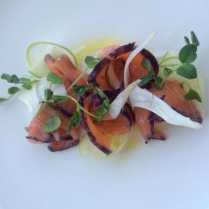 Cured Salmon Gravalax